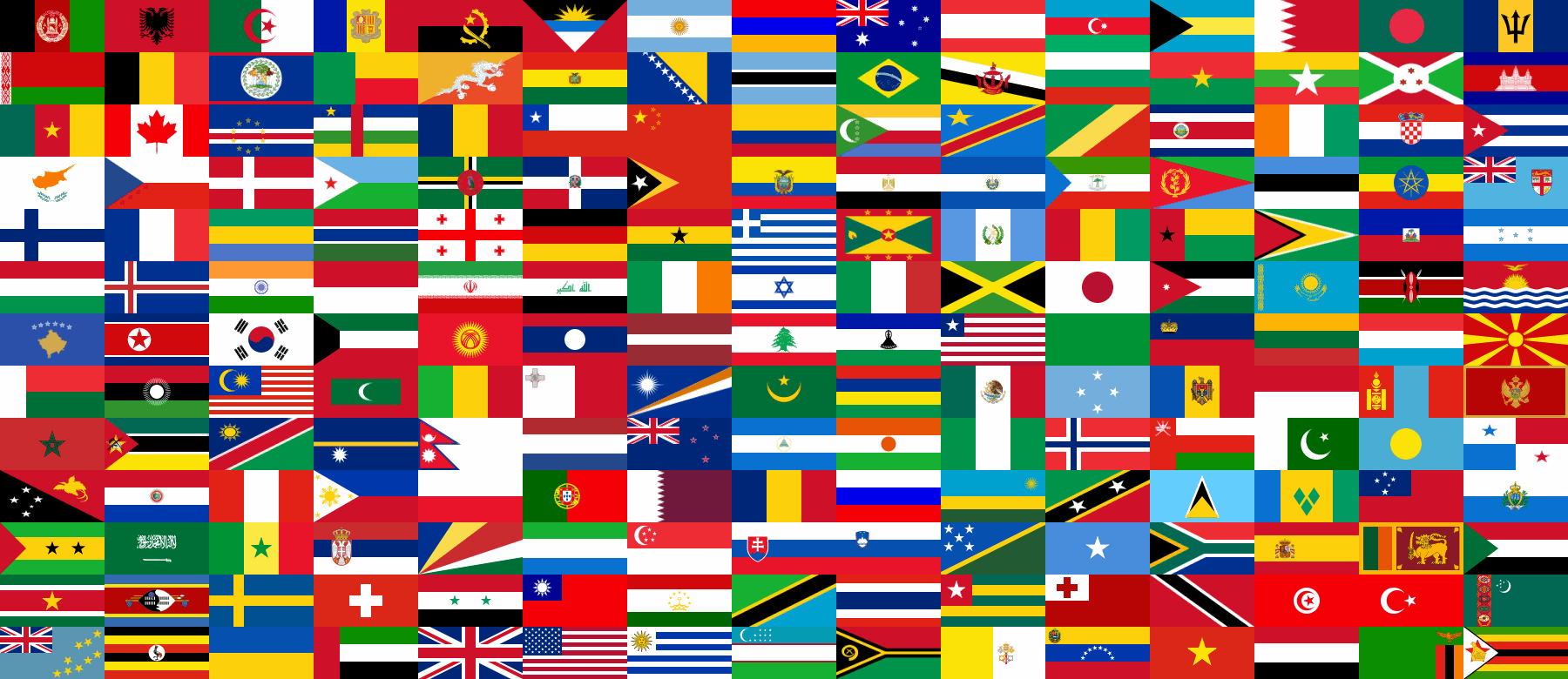 Permalink to Different Color Flags